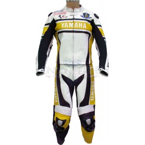 WGP 50th Anniversary Yellow Edition Yamaha Leather Suit