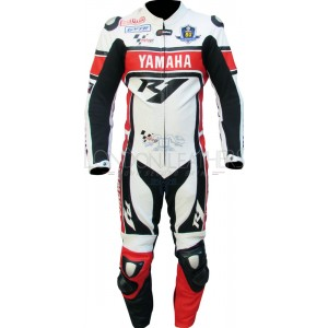 WGP Yamaha 50th Anniversary Edition Biker Race Leathers