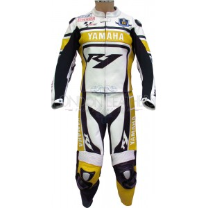 WGP 50th Anniversary Yellow Edition R1 Yamaha Leathers