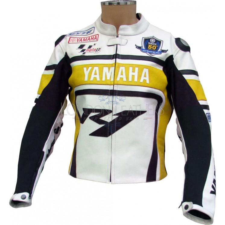 Yamaha r1 wgp yellow edition motorcycle jacket for Yamaha r1 motorcycle jackets