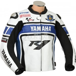 Yamaha R1 WGP Blue Edition Motorcycle Jacket