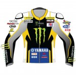 Monster Energy Yamaha MotoGP Leather Biker Jacket