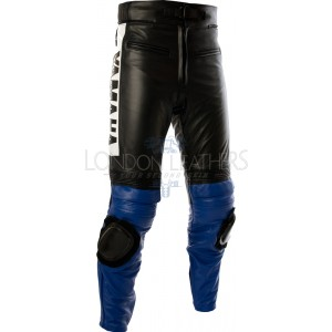 Vintage Yamaha Leather Motorcycle Trouser