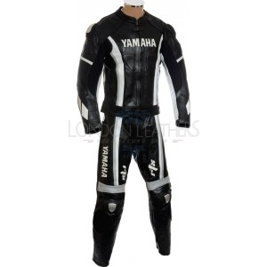 Yamaha Speedblock Black Motorcycle Leathers