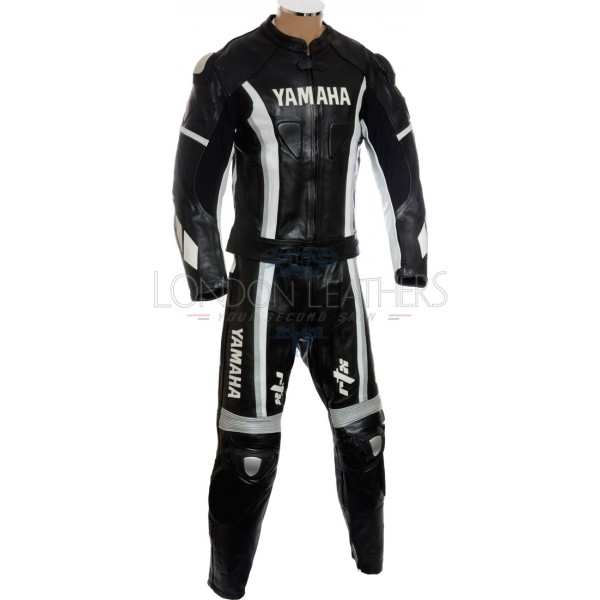 SALE - Yamaha Speedblock 2 Piece Motorcycle Leather Suit - LARGE