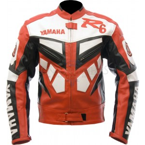 Yamaha Classic R6 Leather Motorcycle Jacket
