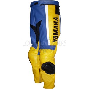 Yamaha Toseland Rep Leather Biker Trouser