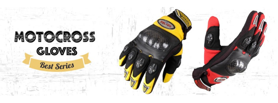 Motocross Gloves Range