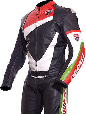 Ducati Corse Tri-Colour 2Pc Suit