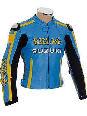 MotoGP Suzuki Rizla Blue Biker Jacket